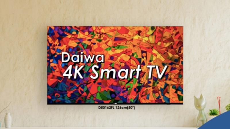 Daiwa D50162FL 50 Premium 4K Smart TV
