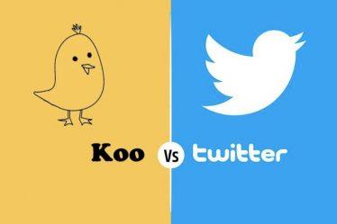Koo App vs Twitter app