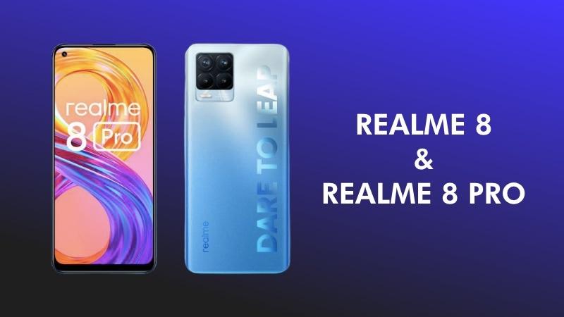 Realme 8 and Realme 8 pro launch