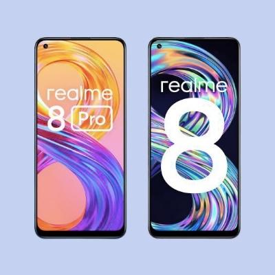 Realme 8 and Realme 8 pro